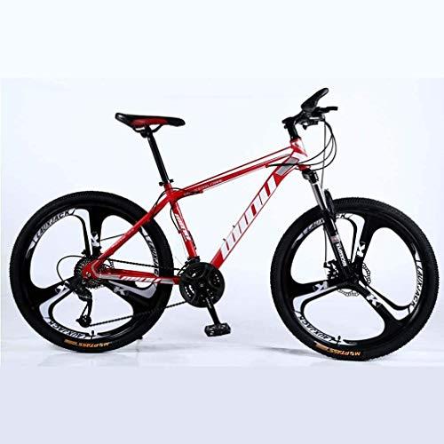 SAFT Adulto Bicicleta de montaña Bicis,Nieve Playa de Bicicletas, Bicicletas Doble Freno de Disco, 26 Pulgadas de Aluminio Ruedas de aleación, Propósito General Mujer Hombre