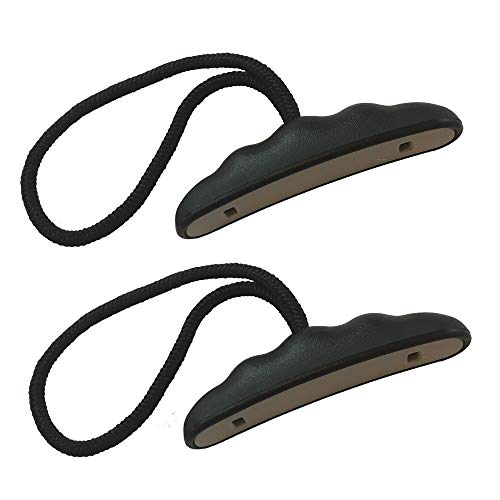 Occult Kayak Handles (2 Pack) - Strong T-Handle Design - Ultra Heavy Duty Bungee - Replacement Installation Kit - Kayak and Boat Accessories