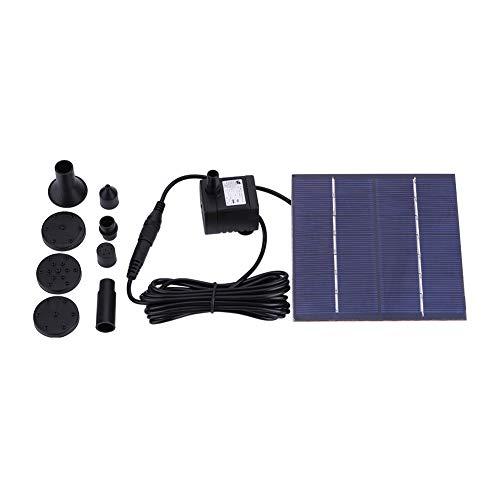 Kits de Bomba de agua Solar, Fuente de Energía solar Fuente de agua Flotante Bomba de agua para Piscina
