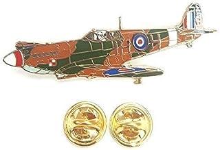 Spitfire 3/4 Turn Raf Distintivo Spilla Smaltata