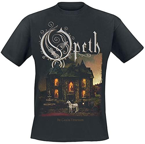 Opeth In Cauda Venenum Album Männer T-Shirt schwarz L 100% Baumwolle Band-Merch, Bands