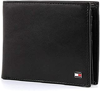 Tommy Hilfiger Eton CC Flap and Coin Pocket, Cartera Hombre^Mujer, 13x10x2 cm (B x H x T)