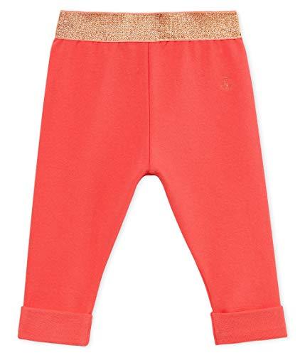 Petit Bateau Barinou Pantalon, Rose (Groseiller 01), Nouveau-né (Taille Fabricant: 6 Mois) Bébé Fille