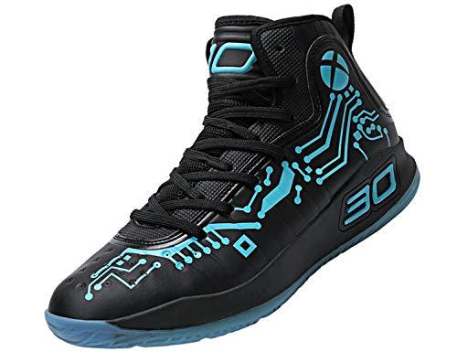 SINOES Basketball-Schuhe Der Neuen Männer 2018 Frühlings-Fall-Basketball Beschuht Hohe-Spitzenturnschuhe rutschfest Haltbar Herren Damen