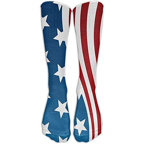 Niet geschikt unisex sokken, Flag Style Long Stocking nonchalante Crew sokken voor sportief wandelen bike 50 cm