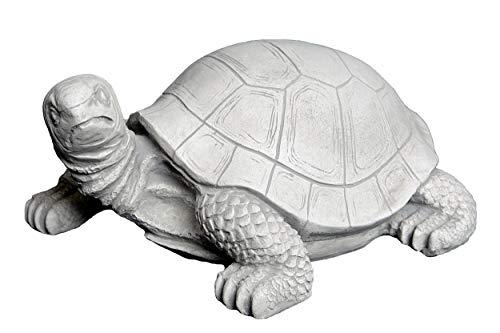 gartendekoparadies.de Herrliche Schildkröte Kröte aus Steinguss, frostfest