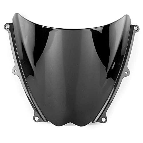 WYXC Parabrisas de Motocicleta ABS para Suzuki GSXR 1000 2007 2008, Deflector Viento Windshield Motocicleta Cubierta de Carenados Conversión Spoiler,A