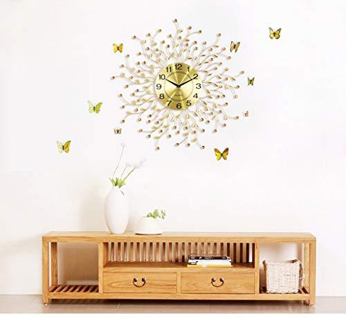 Horloge créative salon horloge murale moderne simple horloge décoration murale montre chambre silencieuse horloge décoration horloge horloge à quartz