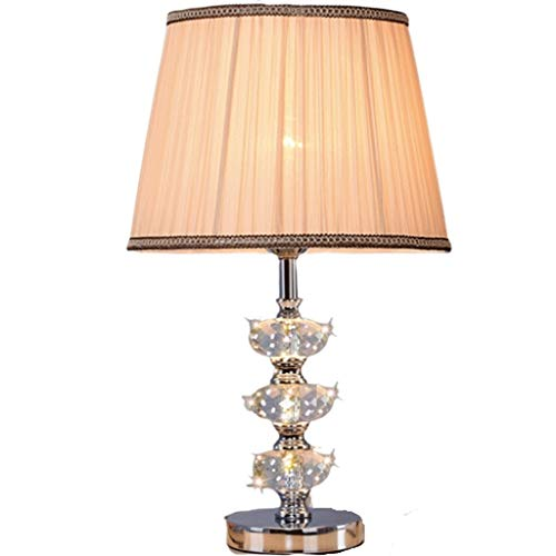 Tafellamp, zilverkleurig, verse tafel, postmoderne kristallen lamp, K9, tafellamp, studeerlamp, sober, woonkamer, lamp, slaapkamer, bureaulamp B-16.5IN Remote Control Switch