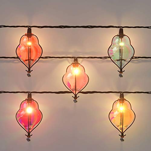 10ct Incandescent Teardrop Indoor//Outdoor String Lights Multi-Colored Opalhouse