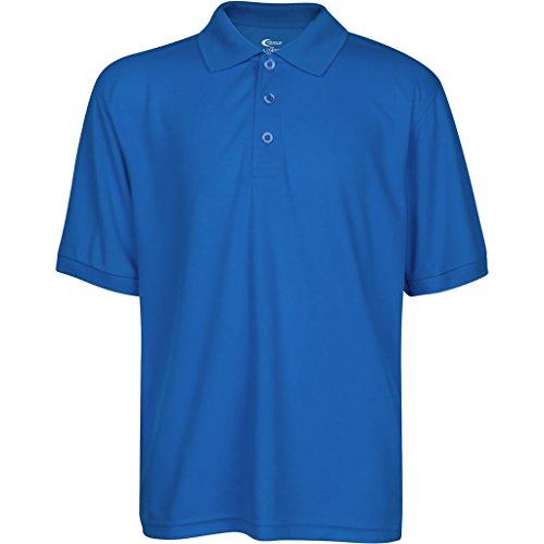 Premium High Moisture Wicking Polo T Shirts Royal Blue XL