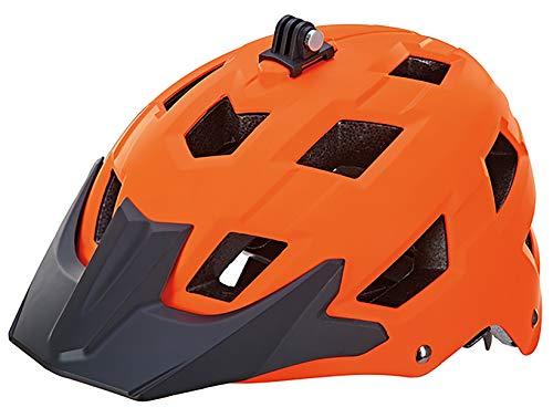 Prophete Unisex– Erwachsene MTB Fahrradhelm Größe: 58-61 cm, orange, TÜV/GS geprüft