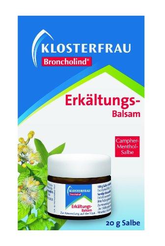 Klosterfrau Broncholind Erkältungs-Balsam, 2er Pack (2 x 20 g)
