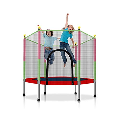 Bracae Trampoline with Safety Enclosure Net, Outdoor Garden JumpingBed Jumping Mat and Spring Cover Padding Outdoor…