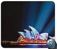 シドニーオペラハウス都市景観夜15362マウスパッドマットマウスパッドホットギフト