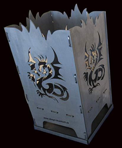 Design Feuerkorb Feuerschale aus Stahl
