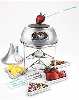 HERSHEY'S KISSES Dessert Nesting Foundue Set, Silver