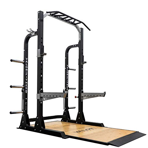 Valor Fitness BD-58BPF Half Rack with Weightlifting Platform
