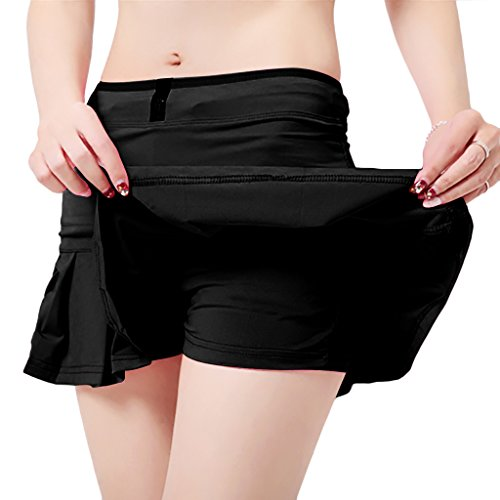 UDIY Sports Skirt - Women's Running Skorts Casual Gym Tennis Skort with Shorts Inner