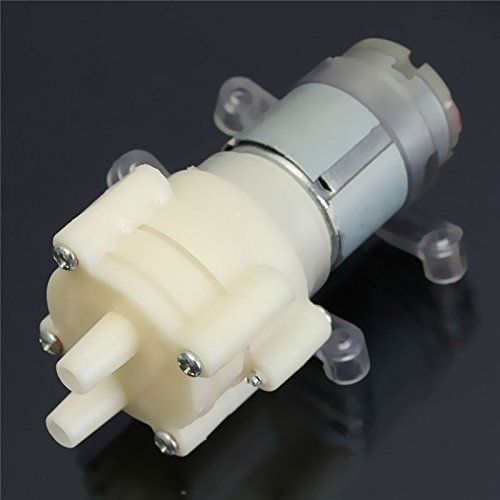 Générique Produit Neuf amorçage Pompe à Membrane Vaporisateur Moteur 12 V pour Distributeur d'eau 90 mm x 40 mm x 35 mm Max Aspiration 2 m