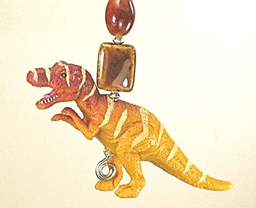 T-Rex Dinosaur with Opaque Glass Light or Ceiling Fan Pull