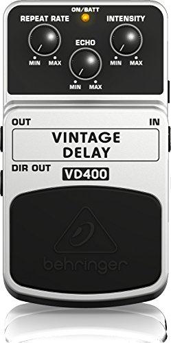 Behringer VINTAGE DELAY VD400 DelayEffektpedal