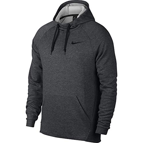 Nike Men's Dry Training Hoodie Charcoal Heather/Black Size X-Large