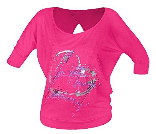 Joy ! Open Feel Chemise pour Femme Rose Taille Unique fJ5902349670942