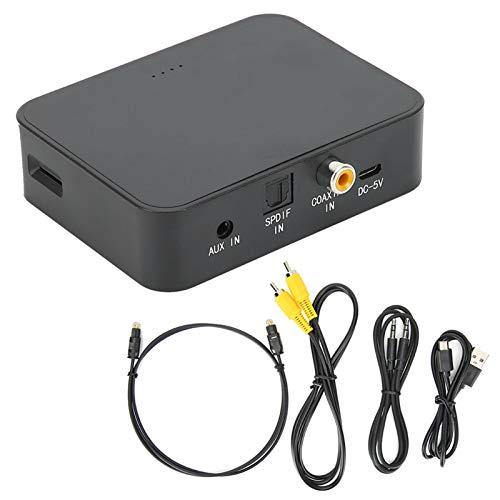 Adaptador de Audio Bluetooth Transmisor de Audio Bluetooth multifunción Fibra óptica coaxial AUX Bluetooth5.0 Transmisor Bluetooth Adaptador de Audio para Xbox