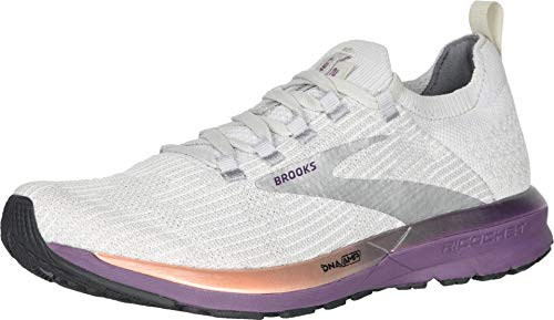 Brooks Ricochet 2, Zapatillas para Correr para Mujer, Grey/Cantaloupe/Grape, 41 EU