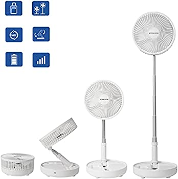 Primevolve 8.7 Inch Rechargeable Height Height USB Fan