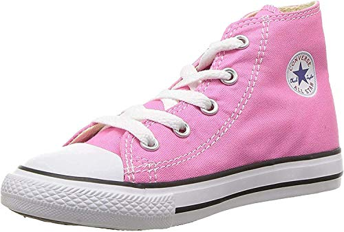 Converse Unisex-Kinder All Star Hohe Sneakers, Pink, 23 EU