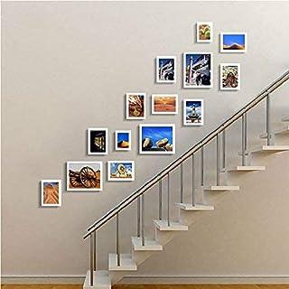 Achket إطارات الصور، إطار الصورة، صور مؤطرة، صور framer، إطار الصورة digtal.Stair صورة الجدار ممر صور الجدار الصلبة الخشب ...