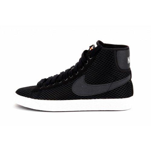 Nike SCARPA SNEAKER DONNA FUXIA O NERO ART. WMNS BLAZER MID MESH 579956 39 EU - 8 USA - 5,5 UK NERO - BLACK/ANTHRACITE-WHITE