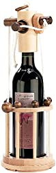 Playtastic Flaschenpuzzle: Flaschen-Puzzle Verona aus stabilem Echtholz (Flaschensafe)