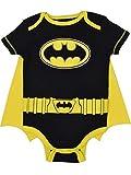 DC Comics Body de Manga Corta de Batman con Capa - Disfraz Friki Divertido para...