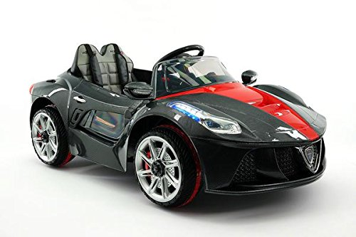 Moderno Kids Ride on Toy Car for Children MP3 12V Battery Powered Electric Wheels NEW 2018 MODEL Ferrari Spider Style R/C Remote