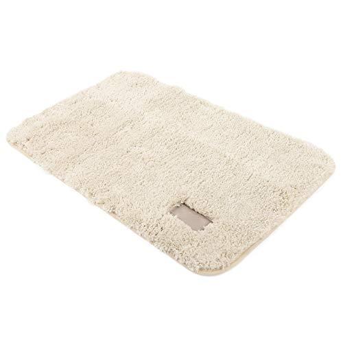 Tapijt Huidvriendelijke dikke beige berber fleece badkamerdeken voor dagelijks gebruik thuis