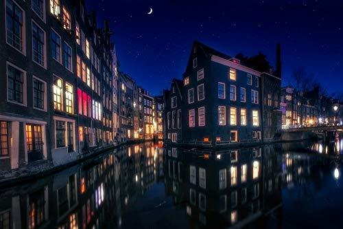 Decorsy Legpuzzel 1000 Stukjes Amsterdamse Gracht In Nederland Moderne Woondecoratie Collectie