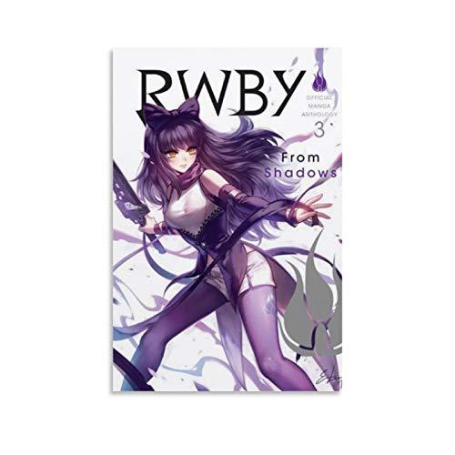 RWBY Poster Manga-Figur Merchandise 3 Poster Dekorative Malerei Leinwand Wandkunst Wohnzimmer Poster Schlafzimmer Gemälde 40 x 60 cm