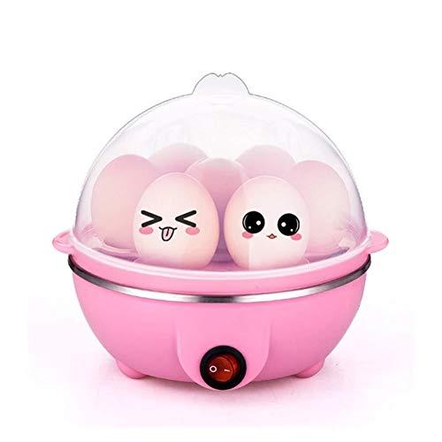 Elektrische eierkoker, eierkoker voor huishoudelijk gebruik, eiermaker Rapid, eenlaagse capaciteit van 7 eieren, eenvoudige eierkoker, voor hardgekookte eieren, 350 W, 220 V