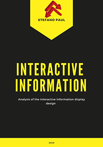Analysis of the interactive information display design (English Edition)