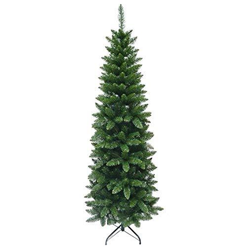 MAURY'S Albero di Natale Extra Slim 150 Cm Verde