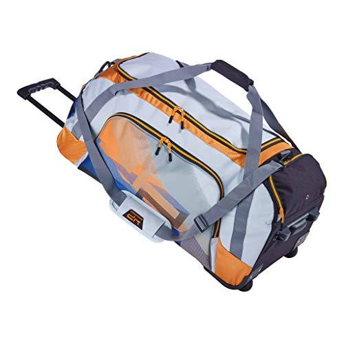 Bodypack – Sporttasche mit Rollen Racing Orange 85 l