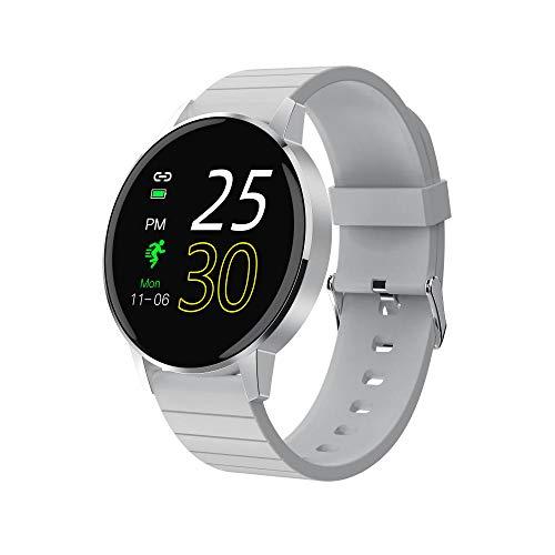 KYLN Smart Watch Full Touch IP67 Reloj Resistente al Agua 30 días en Espera Banda de Pantalla HD para iOS Android iPhone -Blanco