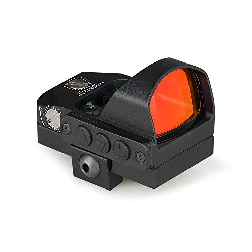 YSS 2 MOA Red Dot Sights Tactical Reflex Sight Easy to Zero Parallax Free for Rifles, Shotguns and Pistols