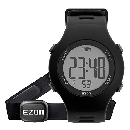 EZON Sport Watch Heart Rate Monitor with Strap Alarm...