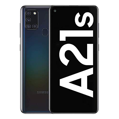 Samsung Galaxy A21S SM-A217f/DS   4G LTE 64GB + 4GB Ram LTE  Four Cameras (48+8+2+2mp)  Android International Version (GSM Only) (Black) (Black)