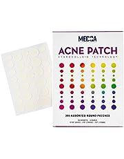 Acne-plåster för ansikte - Hydrokolloidbandage (360 Count) Pimple Patch i 3 universalstorlekar, Acne Spot Treatment Vård för ansikts- och hudfläckplåster döljer zits, acne, minskar finnar och pormaskar