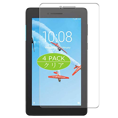 Vaxson Pack of 4 Screen Protectors for Lenovo Tab E7 7 Inch Screen Protector Bubble-Free TPU Film [Not Tempered Glass]